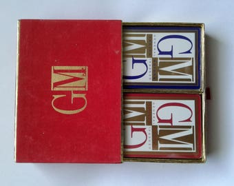 GM General Motor Playing Cards Sealed - 2 Packs / Decks