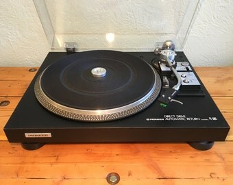 Pioneer PL-518X (1977-78) Audiophile Turntable Audio Technica AT71 Cartridge New Stylus Vintage HiFi Phonograph Record Player Phono Amazing!