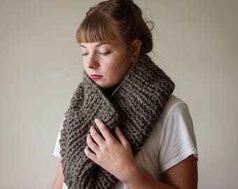 FISHERMAN // Chunky Knit Cowl