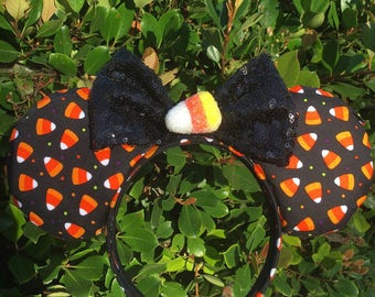 Candy Corn Mouse Ears, Halloween Mouse Ears