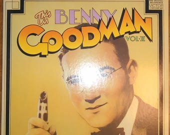 Benny Goodman and His Orchestra - This is Benny Goodman, Vol. 2 VPM-6063 Vinyl Record LP 1972