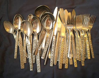 Decorative Silverware for Craft Use - Knives, Forks, Spoons