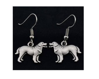 Great Pyrenees Charm Earrings