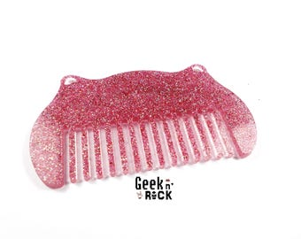 Comb glitter kawaii cat ears adults or children hair accessory hair