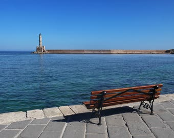 Canvas_063: Chania Lighthouse, Crete
