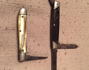 Vintage Pocket Knives for Parts or Repair