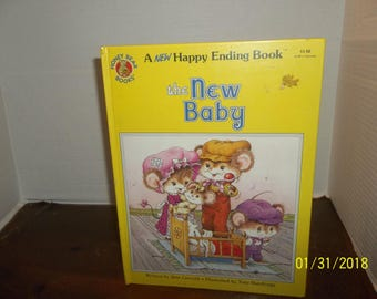 vintage 1985 a happy ending book the new baby