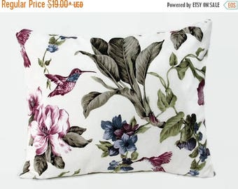 20%off Floral Pillow, Floral Bed Pillow, Floral Pillow Cover, Floral Decorative Pillow, Floral Couch Pillow, Floral Sofa Pillow, Size 16x20
