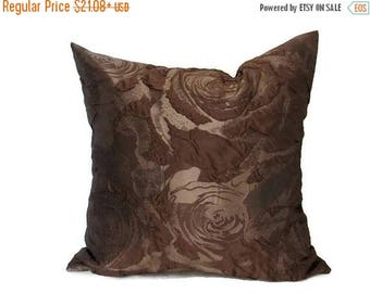 20% off Brown Pillow, Brown Pillows,  Brown Bed Pillow, Brown Pillow Cover, Brown Decorative Pillow, Brown Couch Pillow, Brown Sofa Pillow