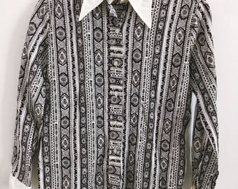 New Year SALE! 10% OFF!1970/80s Button Down Shirt