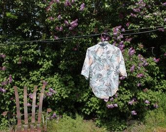 Leopard Print Leisure Shirt