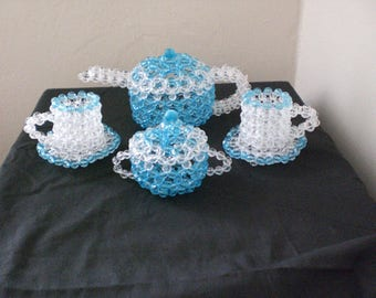 beaded tea-set ( decjr)