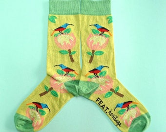 Protea & Sunbird socks