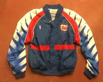 Vintage Champion New Jersey Nets warm up jacket
