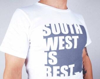 South West Is Best Organic Cotton T Shirt