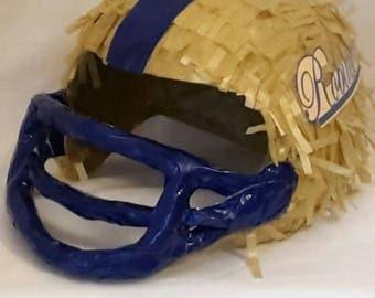 Football helmet piñata.. Handmade. New
