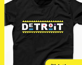 Detroit Damn Gina T-Shirt - Detroit 90s Do It For The Culture Tees - Black Panther Shirt