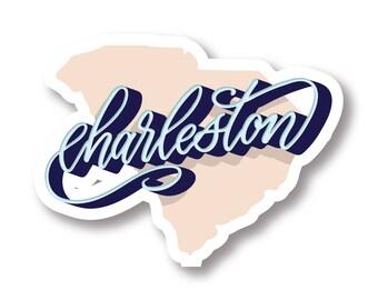 Charleston Vinyl Sticker