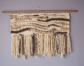 Large Woven Wall Hanging: Comforts of Home