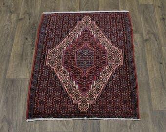 Stunning Pattern Handmade Small Bidjar Persia Rug Oriental Area Carpet 2'5X3'2