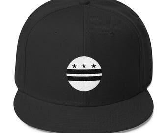 Washington DC Circle Flag Snapback