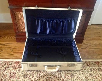 Vintage Crown Luggage Suitcase