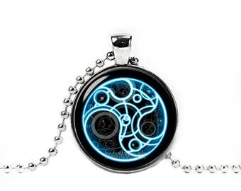 Time Lord Necklace Time Lord  Pendant Doctor Who Geeky Fangirl Fanboy Fandom Jewelry Cosplay