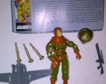 Vintage GI Joe Action Figure General Hawk ***1980's-Early 1990's****** Check Out My other Listings