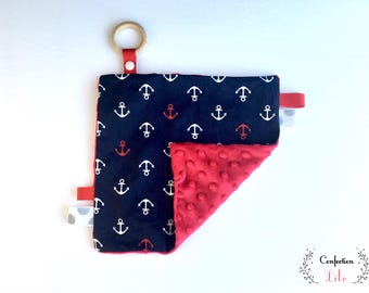 Taggy sailor Option: ring silicone & paper rustling