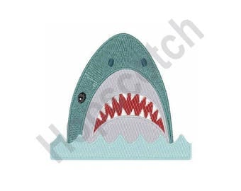 Shark - Machine Embroidery Design