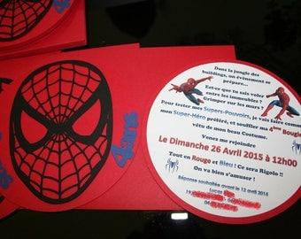 Do Spiderman Super Hero Theme birthday