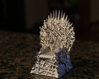 Iron Throne - Game of Thrones - 3D Printed Model - Father's Day Gift