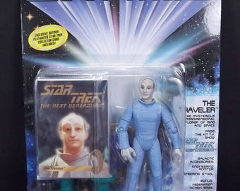 "The Traveler Vintage Star Trek Action Figure Playmates 5"" on Card"