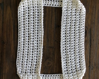 Crochet Infinity Scarves - 2 included