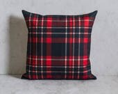 Plaid Pillow Cover, Plaid Pattern Pillow Cover, Pillow Covers, Throw Pillow, Christmas Pillow Cover, Decorative Pillow Cover