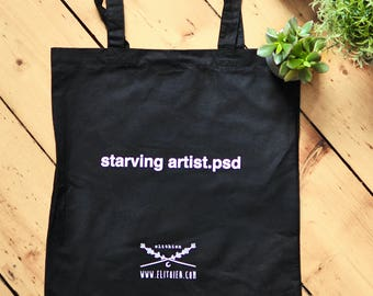 Starving Artist.psd Tote Bag