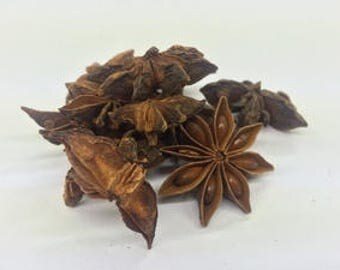 Star Anise Whole, Premium Quality, UK Based, Free P&P within the UK