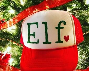 Elf trucker hat