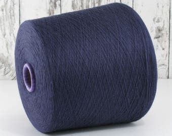 600g cotton yarn on cone, Italy/cotton yarn (Italy) on cone: Y001099