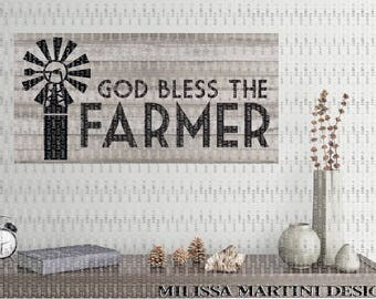 Farm Sign, Farmer Quote, Wood Sign, Stencil for Sign, SVG DXF