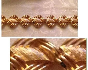 On Sale Vintage Coro Pegasus Goldtone Link Bracelet