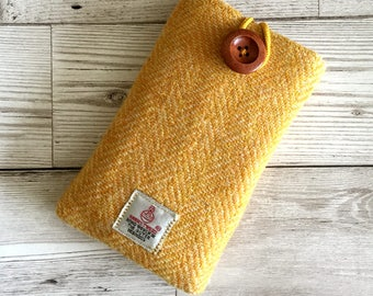 Harris Tweed, Mobile Phone Case, Mobile Phone cover, Iphone6 Case, Samsung Case, Cell Phone Case, Harris Tweed phone case. Smart phone Cover