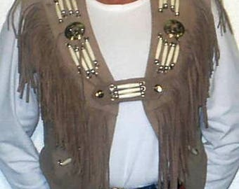 TS-4BRN Woman Vest