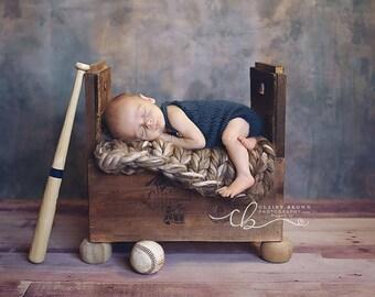Newborn Sack Romper Pattern, Knit Romper Pattern, Knit Newborn Pattern, Knit Sitter Pattern, Photo Prop Pattern, Romper Pattern