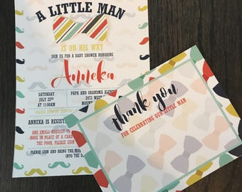 Little Man Baby Shower//Bow Tie Baby Shower//Mustache Baby Shower//Little Man Baby Sprinkle//Bow Tie Baby Sprinkle//Mustache Baby Sprinkle