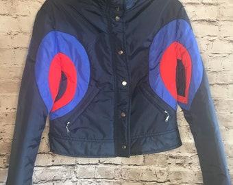 Vintage womens Obermeyer bullseye ski jacket
