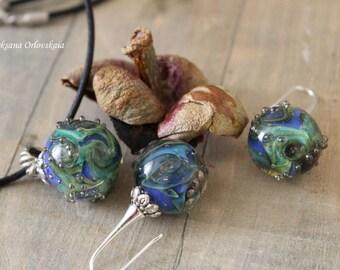 Jewelry set the galaxy