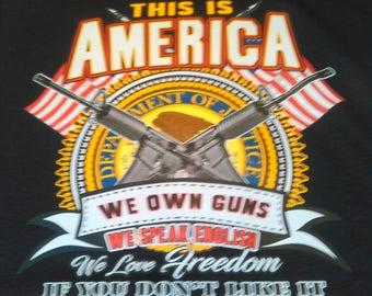 This is America T-shirt- 2nd Amendment T-shirt-