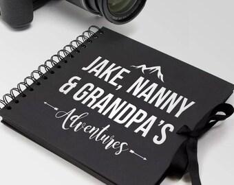 Personalised Scrapbook / Photo Album Custom Designed travelling adventure
