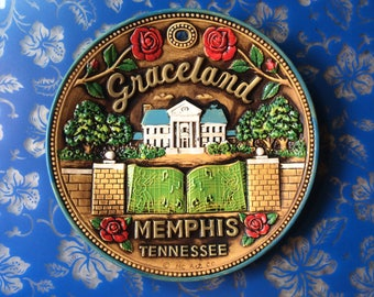 Graceland Memphis Tennessee Collector Plate